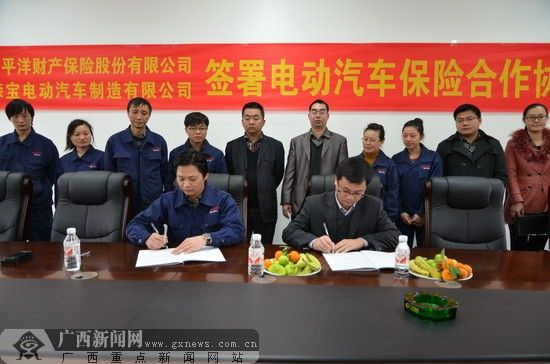 签订合约。广西新闻网记者 罗莎 摄