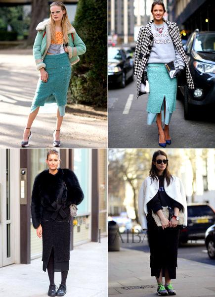 """时装周的时尚""""撞衫记"""""""