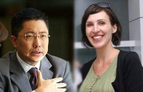 李阳和前妻Kim