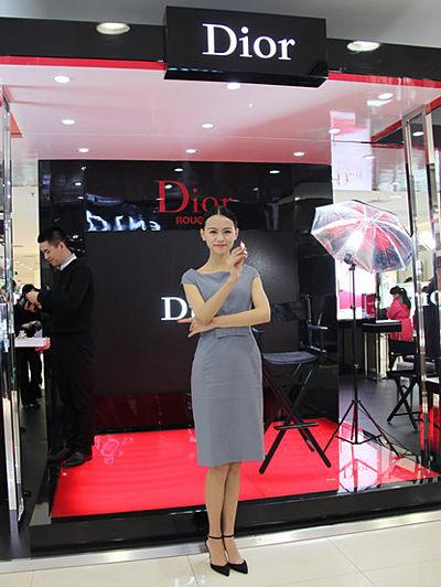 """Dior迪奥""""烈艳蓝金盛妆会""""现场"""