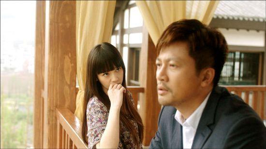 陈乔恩在饰演安琪儿
