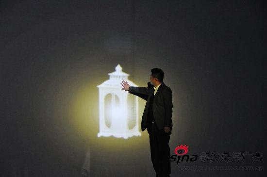 龙光地产总经理助理何恺晨启动发布会灯饰