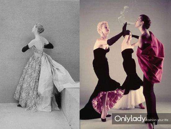 1951年的Balenciaga礼服