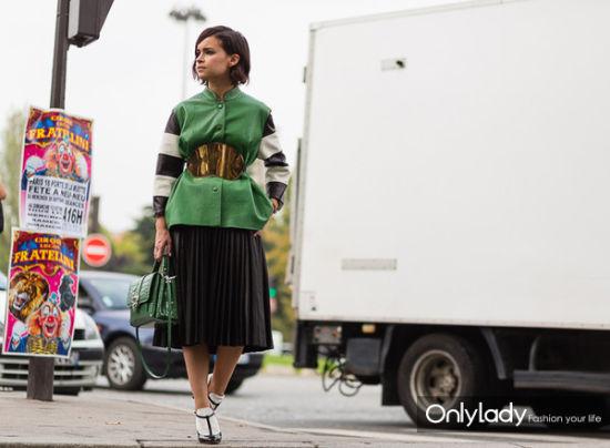 个性时尚绿色