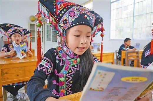 国际儿童读书日广西学校培养小学生阅读习惯(图)