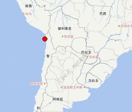 北京时间4月2日智利发生强震,距离震中不足百公里的伊基克,同中国南宁市是友好城市。