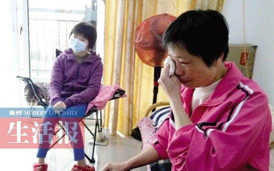 李郭滢和母亲。