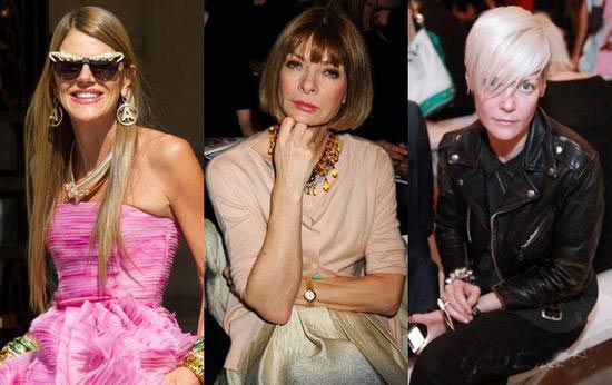 """时尚界资深""""女魔头""""们:Anna Dello Russo、Anna Wintour、Kate Lanphear"""