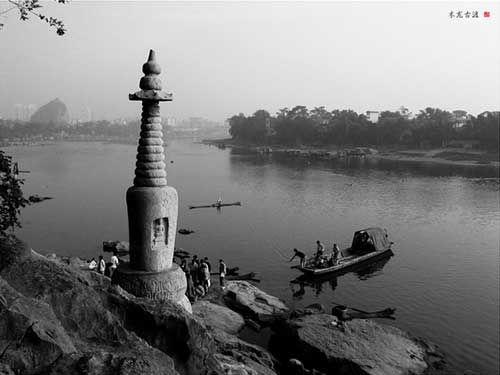 五十年代的木龙湖