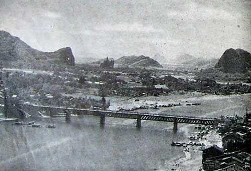 五十年代的解放桥