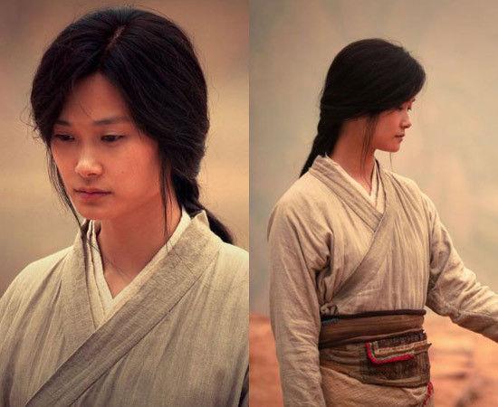 李宇春的长发造型