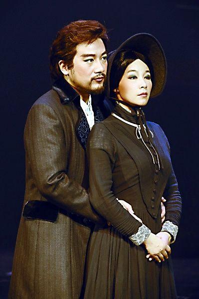 音乐剧《简爱》的男女主角