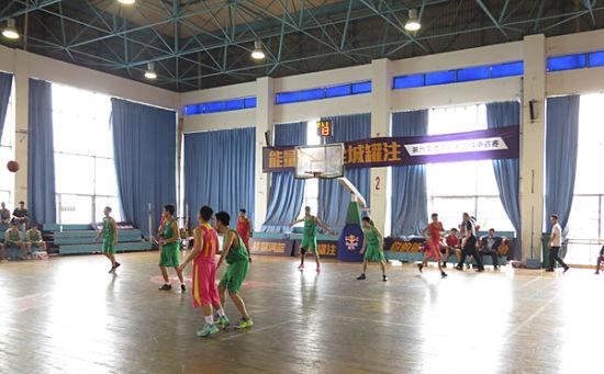 第六届红牛南宁篮球争霸赛现场