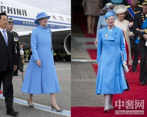 丹麦女王玛格丽特二世再度访华