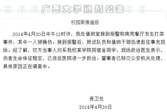 广西大学官方网站截图