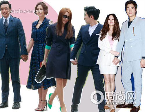 从左至右:金承佑,金南珠,尹智敏,权敏,金孝珍,刘智泰