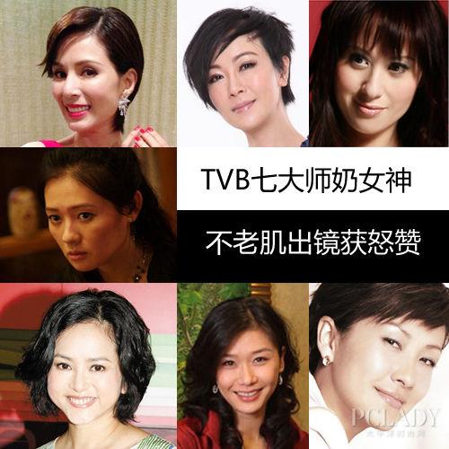 TVB七大师奶女神 不老肌出镜获怒赞