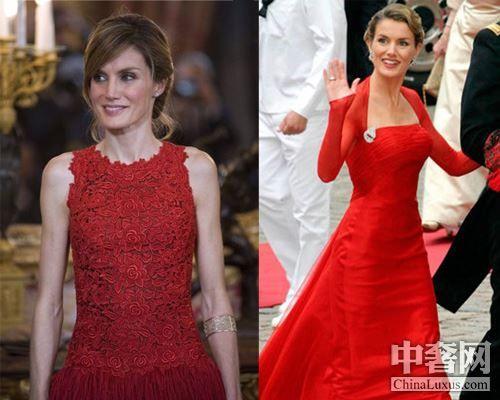 西班牙王妃:热情的红女郎
