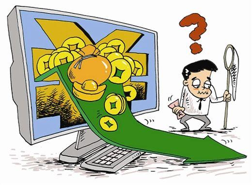 """4月以来,互联网""""宝宝军团""""的收益率持续回落。江日 图"""