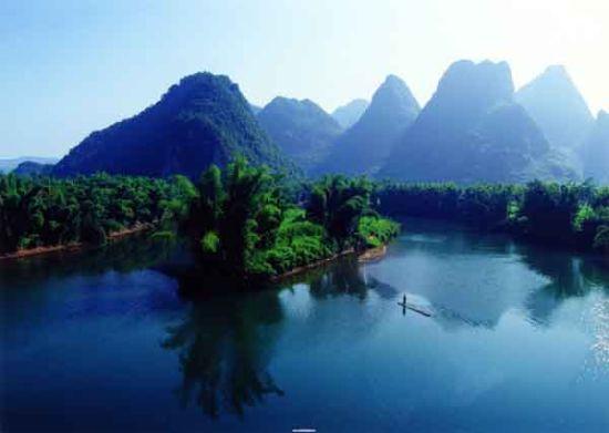 临江河风景 资料图