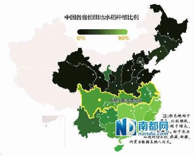 各省份居民倾向集体主义的比例