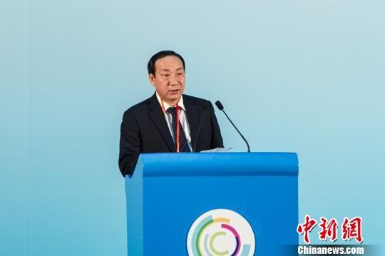 越南交通部副部长阮鸿长出席第八届泛北部湾经济合作论坛。 洪坚鹏 摄