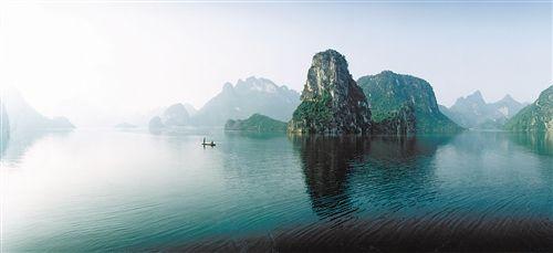 上林大龙湖 图片来源:新华网
