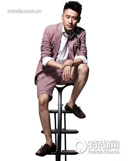 吴秀波套装短裤
