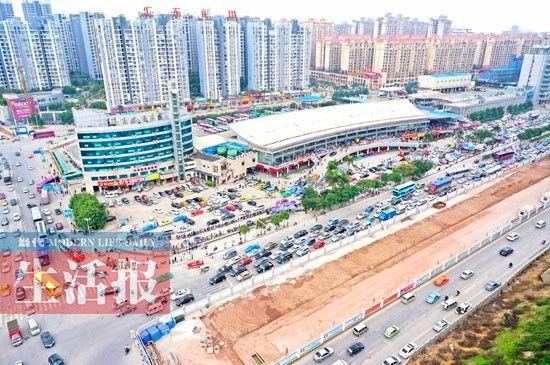 埌东汽车站周边区域发展很快。