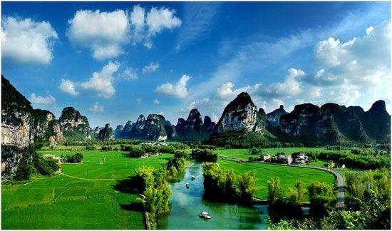 美丽的广西 图片来源:广西旅游局