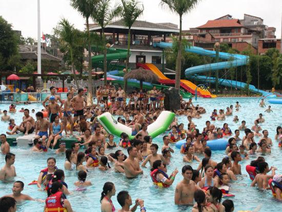 九曲湾温泉水上乐园儿童节端午节齐欢乐