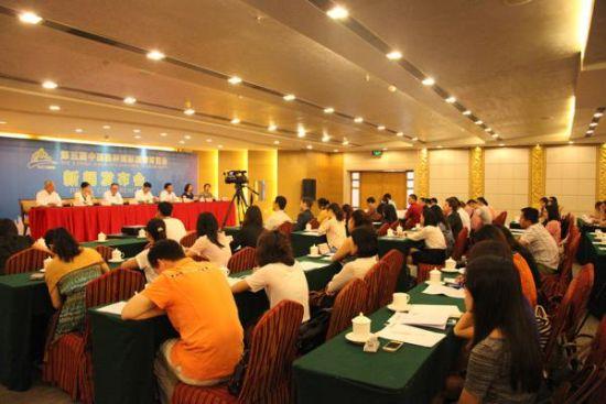 第五届中国桂林国际旅游博览会广州新闻发布会现场 图片来源:新华网广东频道