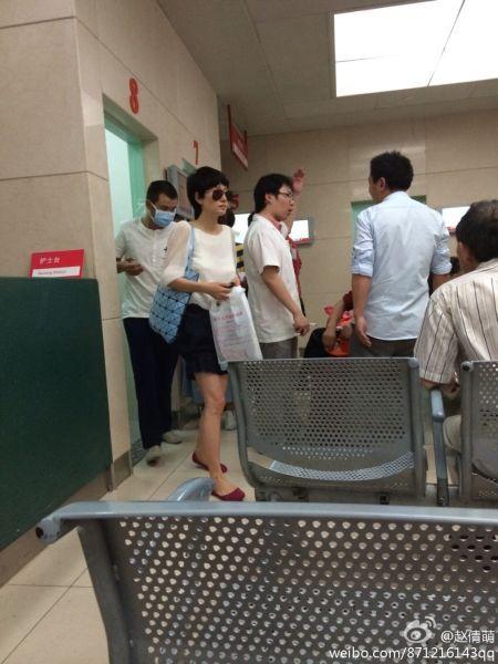 文章马伊琍被看到同时出现在上海某医院
