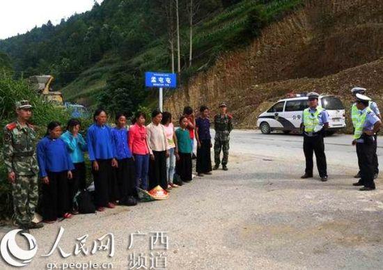 警方提供的非法入境越南人照片。