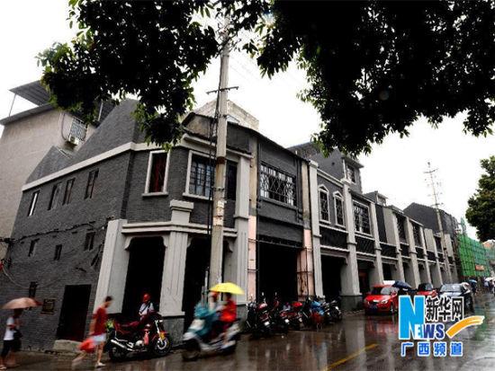 新骑楼群 图片来源:新华网广西频道
