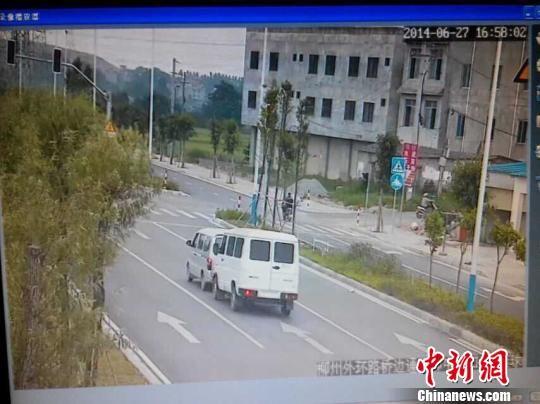 图为肇事车辆。柳州交警供图