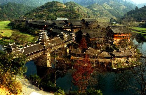 百里侗乡 图片来源:资料图