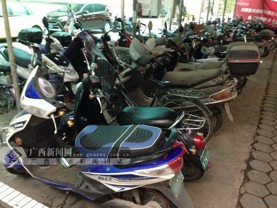 南宁将专项整治电动自行车违法行为 。 广西新闻网记者 陈仁义摄