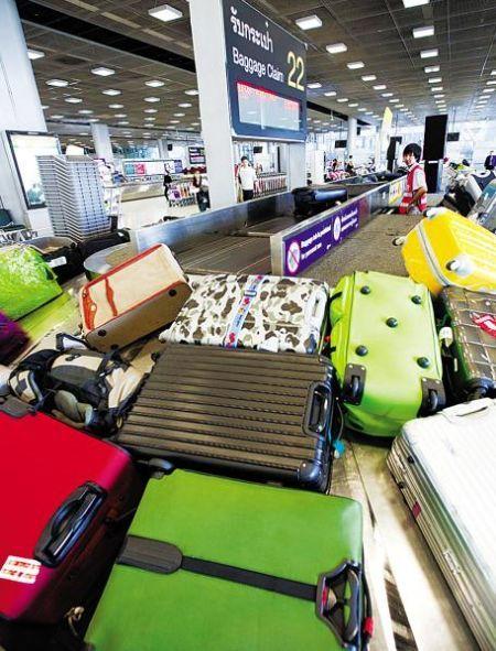 需要托运的行李 图源:新浪图库