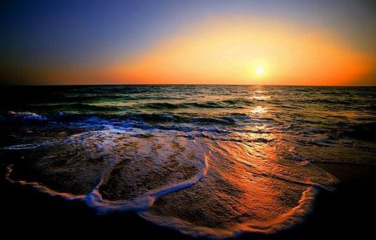 涠洲岛的日落 图源:新浪图库