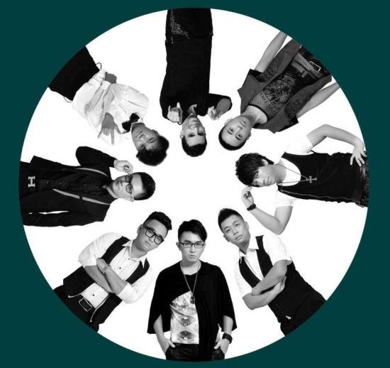 音浪乐队。图片来自微博