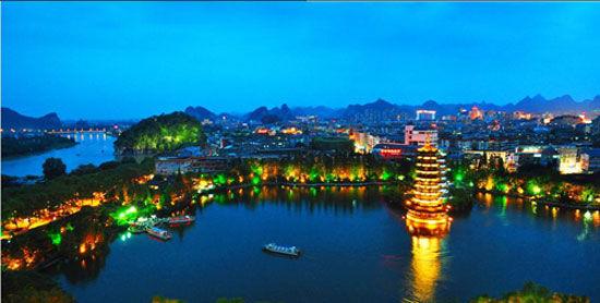 桂林两江四湖。(资料图片)