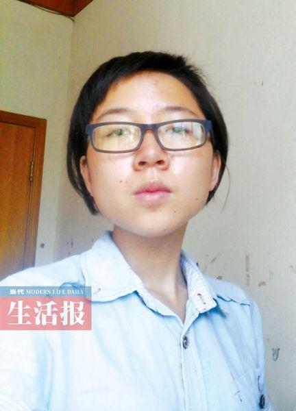 谢丽坤生活照.图片来源:当代生活报