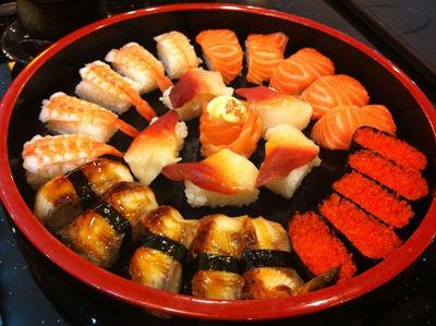 【寿司拼盘】
