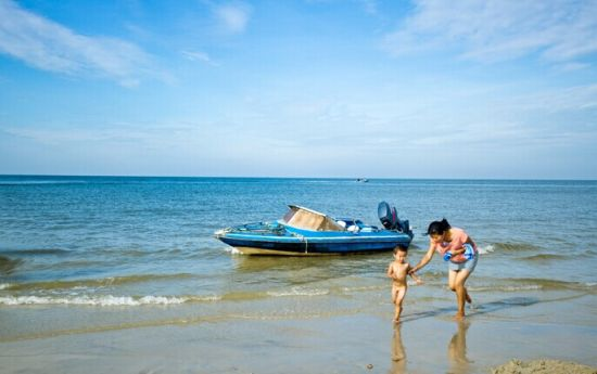 北海银滩 图源:新浪图库