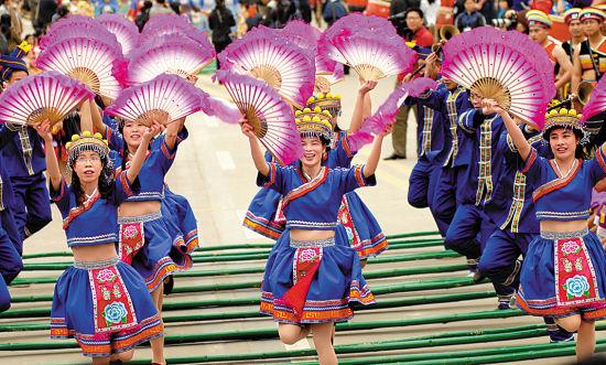 武鸣三月三歌节 图源:新浪图库