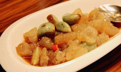【腊八蒜拌海蜇和笋】