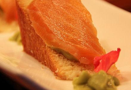 【三文鱼土司】