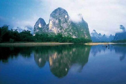 桂林山水 图源:新浪图库