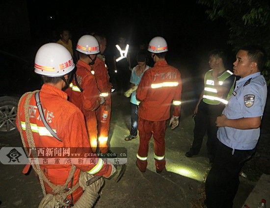 被困少年安全获救。通讯员 杨国恒 摄